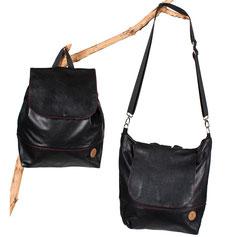 Rucksack-Tasche Blütenmuster