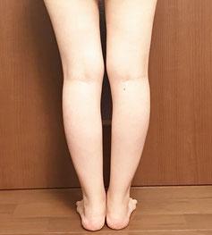 癒しのボディ フルコース 体験後 脚背面