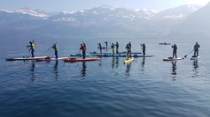 *happy paddling SUP Tour Winter