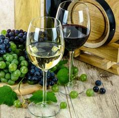 Pfälzer BIO-Wein, weiß oder rot