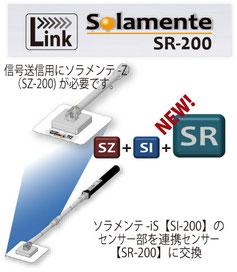 Si-200のセンサー部をSR-200に交換