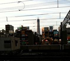 2010年3月頃の東京スカイツリー
