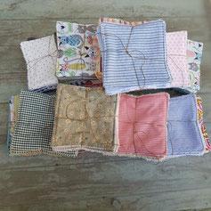 lingettes lavables en coton