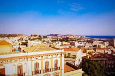 Blick über Cagliari