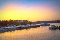 Sonnenuntergang in Porto Cervo