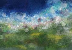 「sky imagination           ~トワイライトマジック~」サムホール