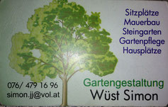 Gartengestaltung Simon Wüst