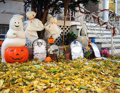 otoño en halloween