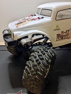 crawlster®4Wd montiert auf Dirks AX10 Ridgecrest