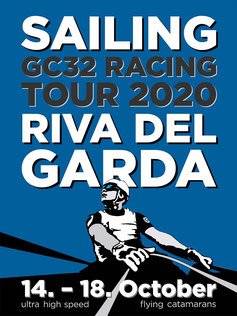 GC32 Racing Tour Plakat Illustration von Philipp Brunschwiler