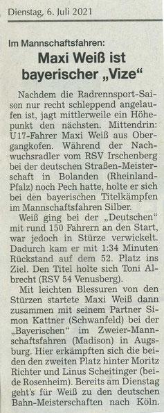 Quelle: Landshuter Zeitung 06.07.2021