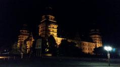 Aschaffenburger Schloß bei Nacht