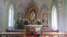 Die Lourdeskapelle in Tannheim