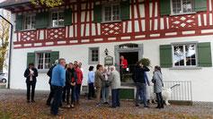 Klosterhof Eggenreute, In der Mitte Onkel Franz