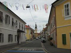 Bad Radkersburg in Feierlaune (die Gäste kommen gleich...)