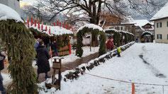 Der Weihnachtsmarkt verdient die Bestnote...