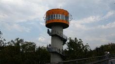 Vom Aussichtsturm hat man einen gigantischen Ausblick über den Naturpark Hainisch.