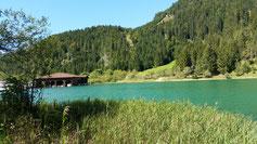 Am Heiterwanger See sollte ich mich auch mal wieder von der Sonne küssen lassen...