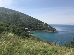 Küstenstraße nach Senj