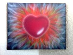 Heartfire 30x20cm / verkauft