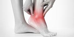 Fußbeschwerden, Kniebeschwerden