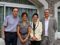 Jeanne Cunill et Jacques Corillon directeurs de l'école de sophrologie de Liège