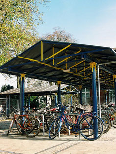 Maris Fahrradüberdachung