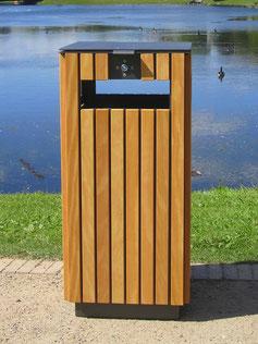Areal Abfallbehälter
