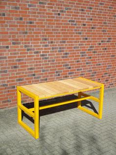 Conti Tisch in gelb