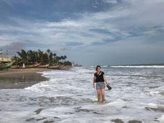 Am Strand von Accra