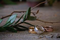 Bagues Argent Or Jocelyne Veilleux Artisan de Nature Saint-Vallier Silver Gold Ring Artisan by Nature