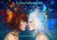 EL ALMA GEMELA EXISTE - ALMAS GEMELAS - LA GRANDIOSIDAD DEL ENCIENTRO - PROSPERIDAD UNIVERSAL - www.prosperidaduniversal.org