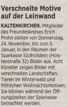 Segeberger Zeitung 23.11.2016