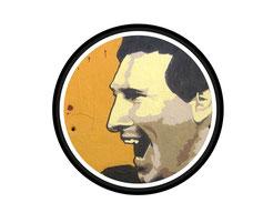 Homenaje a Leo Messi por AXE COLOURS