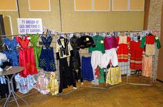 Exposition d' habits traditionnels bretons