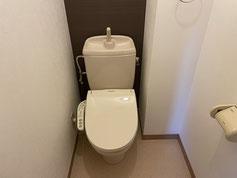 トイレ(シャワー便座に交換予定)