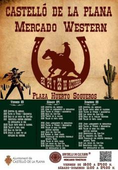 Mercado Western en Castellón de la Plana: programa
