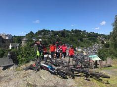 Mountainbiken Monschau/Eifel, zauberhafter Eifelschatz