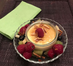Dessert gefällig? Vielleicht ein herrliches Crème Brullée?