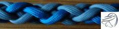 6-fach rund, ca. 10mm, bis 3 Farben möglich