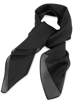 Zwarte Sjaal