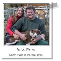 Au Vert'Denne - Gautier Dublet et Maureen Kesch