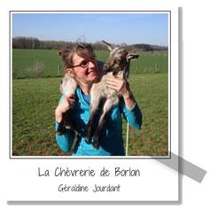 La Chèvrerie de Borlon - Géraldine Jourdant