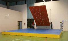 tapis d'escalade
