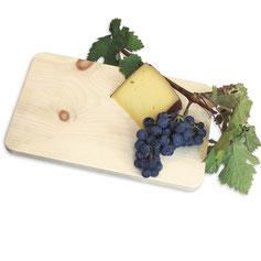 Brotzeitbrettchen aus Zirbenholz