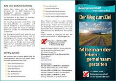 Flyer Kommunalwahl 15.03.2020