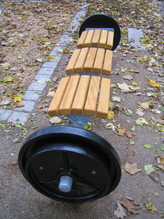 GOLD Dumbbell-Bench