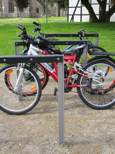 Tandem Cycle Protecting Stand