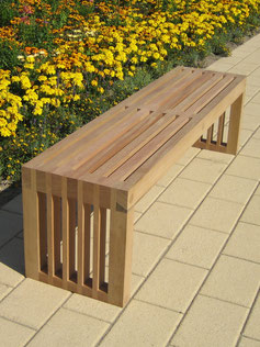 Cocoa Solid Wood Bench