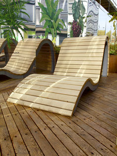 Albatros Wave Lounger